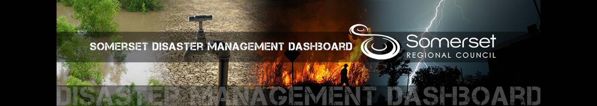 Disaster portal header