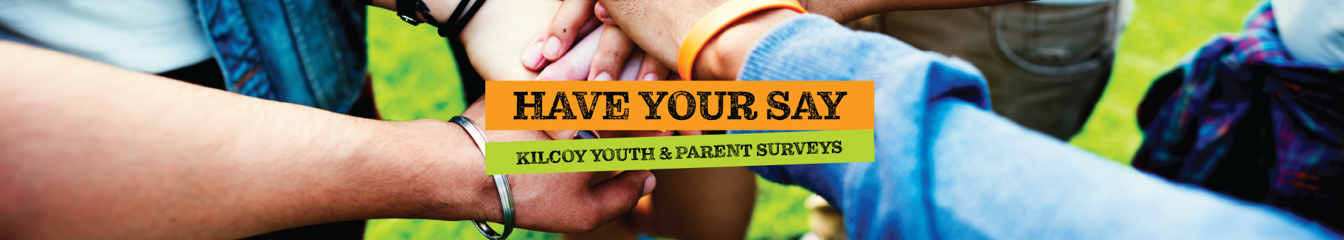 Youth survey banner