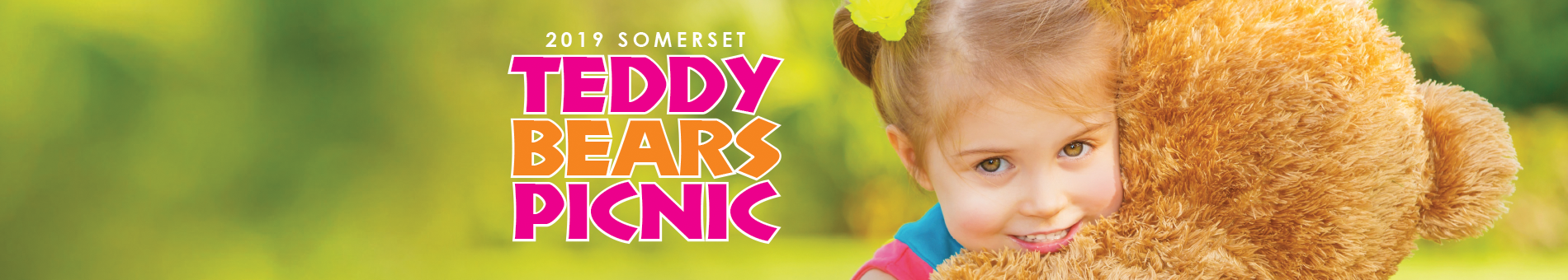 A promo image for Teddy Bear Picnic 2019