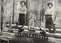Historic photo - sleeper cutters