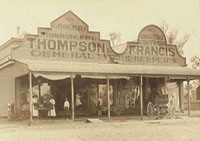 Thompson and Francis stores